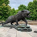 Rochester Institute of Technology Bengal Tiger statue.jpg