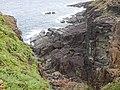 Rock formations at Sanninudai.jpg