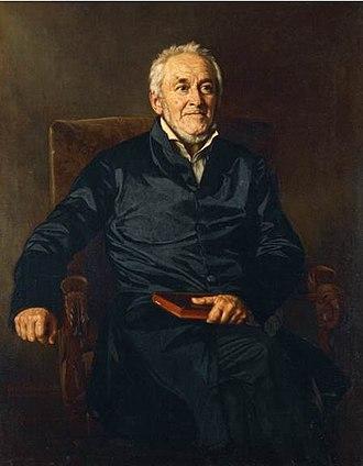 Ernst Moritz Arndt - Arndt in his elder years; portrait by Julius Roeting