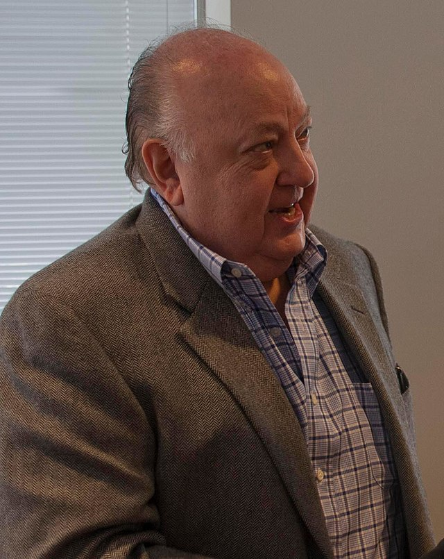 From commons.wikimedia.org: Roger Ailes, June 2013 {MID-81896}