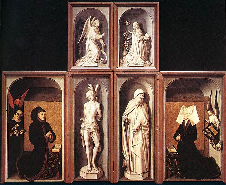 Archivo:Rogier van der Weyden - The Last Judgment Polyptych (reverse side) - WGA25626.jpg