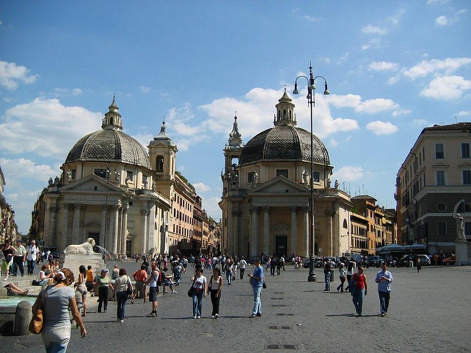 Roma-piazza del popolo