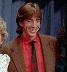 Ron Reagan celebrating his father's victory in the 1984 election C25682-16A.jpg