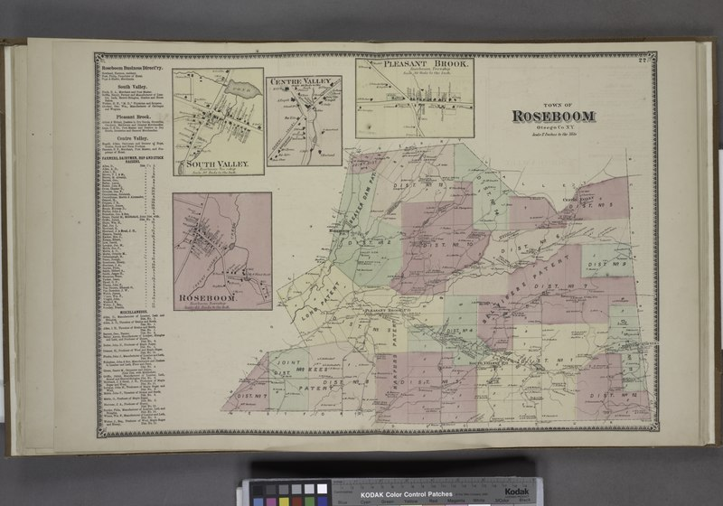 File:Roseboom Business Directory.; South Valley. (Village); Roseboom. (Village); Centre Valley. (Village); Pleasant Brook. (Village); Town of Roseboom, Otsego Co. N.Y. (Township) NYPL1602754.tiff