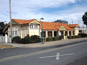 Rosewood railway station - Station in 2015