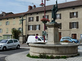 The Jeanne d'Arc Square, in Rosieres