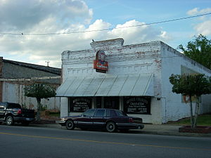 Rowland, North Carolina - A storefront church in Rowland