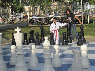 Roxas, Capiz - Roxas chess plaza