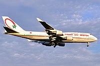 CN-RGA - B744 - Royal Air Maroc