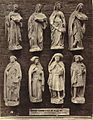 Royal Architectural Museum. Plaster Casts (Figures) from the West Porch of Chartres Cathedral (3610769041).jpg
