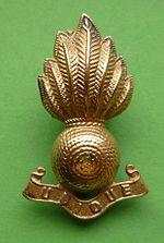 Royal Artillery collar badge