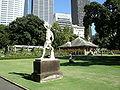 Royal Botanic Gardens, Sydney 11 lottatori di canova.JPG