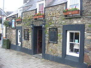 Royal Oak - 'Royal Oak' is a common name for British pubs, such as this one in Fishguard, Wales