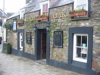 Battle of Fishguard - Royal Oak Pub in Fishguard, where Lord Cawdor set up his headquarters