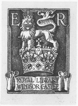 George Eve - Image: Royal bookplate for King Edward VII by G W Eve