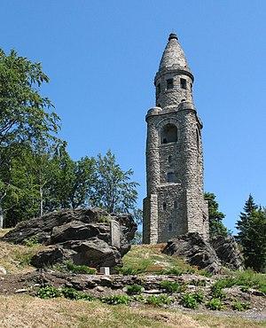 Bismarck tower on the Hainberg