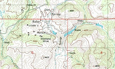 Ruby Arizona Map.Ruby Arizona Wikipedia