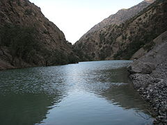 Rudbar-e Aligudarz river in Aligudarz county is one of the branches of Dez river.