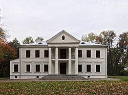 Rudnik nad Sanem - pałac Tarnowskich (01).jpg