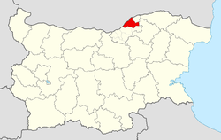 Ruse Municipality Within Bulgaria.png
