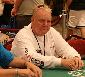 Russ Hamilton - Hamilton playing at the 2007 UB Aruba Poker Classic