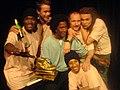 S.T.I.C.S vinner deras första Svenska Mästerskap i Poetry Slam. 2007 I bild S.T.I.C.S & Oskar Hanska mfl.jpg