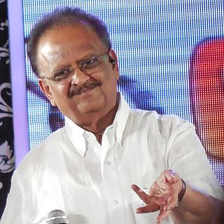 S. P. Balasubrahmanyam Indian playback singer, music director, actor, dubbing artist, and film producer