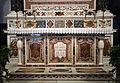 S.m. della pietà, int., altare maggiore di G.B. Cennini e Pier Maria Ciottoli su dis. del Mechini (1623-25) 02.JPG