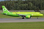 S7 Airlines, VQ-BRA, Airbus A320-271N (44305956691).jpg