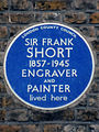 SIR FRANK SHORT 1857-1945 ENGRAVER AND PAINTER lived here.jpg