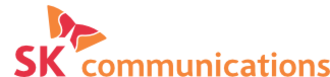SK Communications - Logo used from 2002 to 2007.