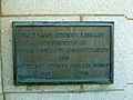 SL County Library plaque.JPG