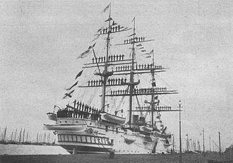 SMS Charlotte - Charlotte, c. 1902