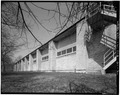 SOUTH ELEVATION - Fort Sheridan, Infantry Drill Hall, Whistler and Ronan Roads, Lake Forest, Lake County, IL HABS ILL,49-FTSH,1-21-2.tif