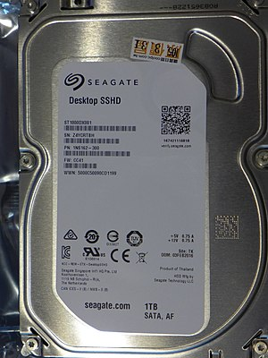 Hybrid drive - Seagate desktop SSHD ST1000DX001