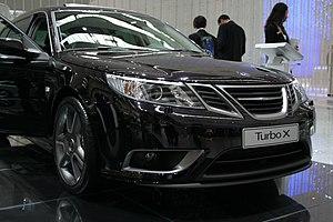 Saab XWD - Saab Turbo X, the launch vehicle for Saab XWD