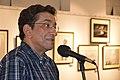 Sabyasachi Chakrabarty Addresses - Group Exhibition Inauguration - PAD - Kolkata 2016-07-29 5294.JPG