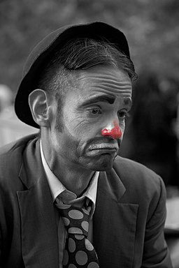 Sad Clown - Occupy Wall St