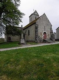 Saint-Denis-sur-Sarthon (61) Église Saint-Denis 02.JPG
