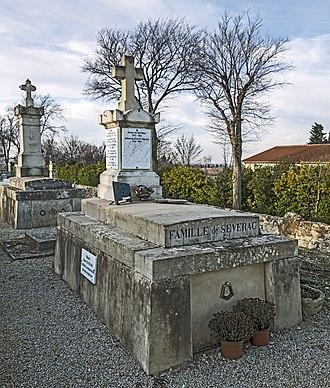 Déodat de Séverac - Tomb of Déodat de Séverac