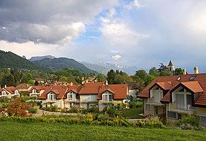 Saint-Légier-La Chiésaz - Saint-Légier and La Chiésaz villages