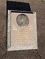Saint-Louis (Haut-Rhin) - Plaque Maréchal de Lattre de Tassigny au monument aux morts (fév 2019).jpg