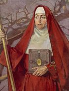 Saint Brigid by Patrick Joseph Tuohy