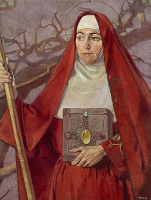English: Saint Brigid.