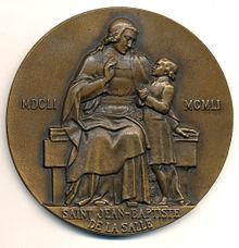 Jean Baptiste De La Salle Wikip 233 Dia