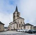 Saint Maurice church in Luc 01.jpg