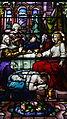Saint Patrick Church (Columbus, Ohio) - stained glass, Washing Jesus' feet with tears.jpg