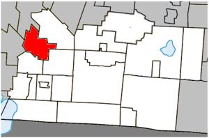 Sainte-Sabine, Montérégie, Quebec - Image: Sainte Sabine (Montérégie) Quebec location diagram