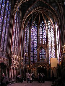 Chapelle Paris Stained Glass
