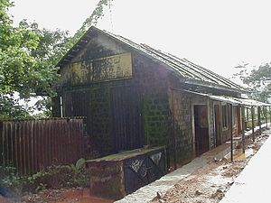 Yedakumeri - The abandoned railway station at Yedakumeri
